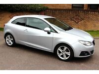 2011 Seat Ibiza 1.6 tdi CR Sport Coupe, Immaculate Condition, Full S History & Timing Belt Change