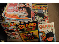 Huge Beano Collection Job Lot Bundle Including Annuals and Summer Specials