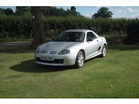MGTF Sport 1.6 115hp. 12 Months MOT. C/W with hard top.