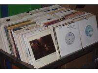 "700 x 7"" Vinyl.. 1960's - 80's Pop Collection"
