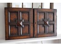 Pair of Antique Georgian Oak Doors,reclaimed doors,reclaimed,used oak,reclaimed oak wood,