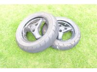 Peugeot Speedfight 2 wheels with good tyres