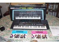 Vtg Yamaha Portasound Music Station PSS-480 49 Key Keyboard Stereo Midi - PAT TESTED