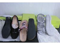 1 pair hotter shoes, 2 pairs hotter sandals - £30 for all