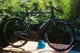 Dolan Fixed Gear track bike Mavic Elispse Cinelli Fixie Michelin Miche Primato