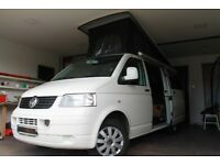 New for this season VW T5 Scotia Poptop Camper Van Hire rental Scotland Deposit £99 Campervan