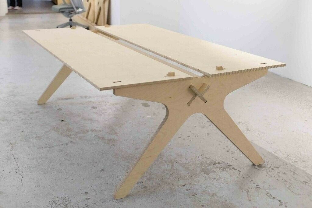 Opendesk Lean Plywood Desk Open (Length 2m) RRP £1100+ 4 Person Design  Studio Desk | in Southville, Bristol | Gumtree