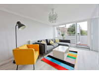 Amazing very large 2 bedroom apartment with balcony right next to Brixton Market.