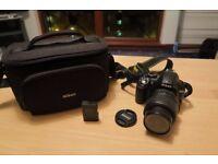 Nikon D3100 + 18-55 kit lens + Additional Accessories - Excellent Condition