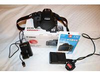 Canon EOS 100D / Rebel SL1 18.0MP DSLR Camera (Body & Extras!)