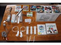 WII CONSOLE WITH 2 CONTROLLERS-2 MOTION PLUS-2 NUN CHUCKS & VARIOUS GAMES INC. LEGO HARRY POTTER