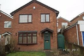 3 Bedroom Detached House To Let. Walsall Road. Darlaston/Wednesbury