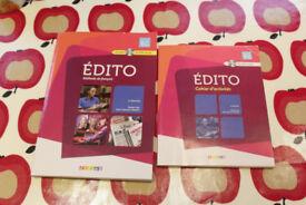 Edito: Methode de Francais - Niveau B2 Book & DVD, Cahier d'activités & CD