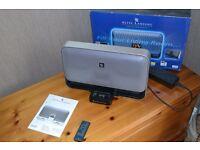 ALTEC LANSING APPLE IPOD SPEAKER DOCK - FAULTY MODEL M602 BLACK DIGITAL