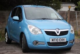 VAUXHALL AGILA 1.2 AUTOMATIC,LADY OWNER, VERY LOW MILLAGE, VERY CHEAP TO RUN