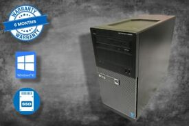 Dell Optiplex 3020 PC tower with SSD i5 QUAD CORE + 6 MONTHS WARRANTY