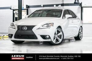 2014 Lexus IS 350 GROUPE DE LUXE GPS-BLIND SPOT MONITORING