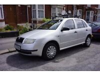 Skoda Fabia 1.4 TDI Classic Silver - Reliable diesel with roof rack and bike carrier