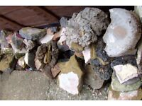 Rubble, gravel to take for free.