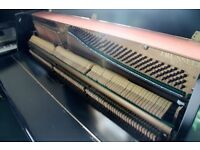 Herman Black upright Piano |Belfast Pianos