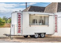 Catering Trailer 12'x7' for sale