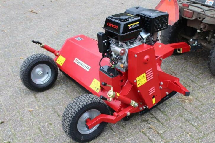 Kraffter ATV/quad klepelmaaier 120 met 13 pk benzine motor