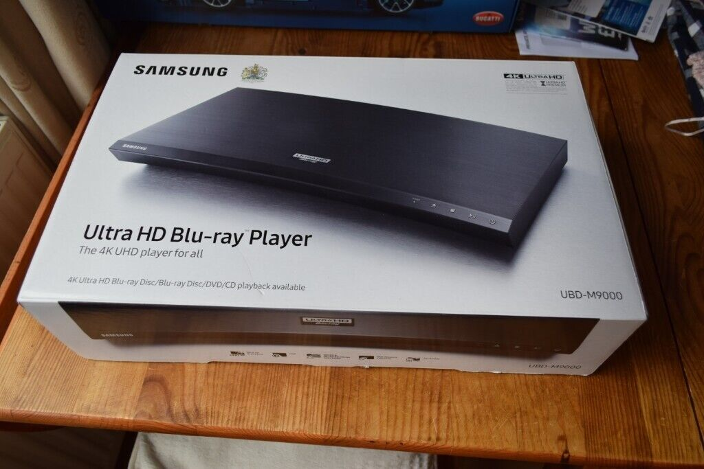 Samsung UBD-M9000 smart 4K Blu-ray player new and unopened  | in Harrogate,  North Yorkshire | Gumtree