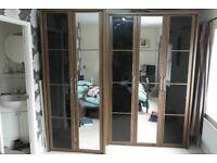Bedroom Furniture Set 2x wardrobe, 2x draw unit and 2x bedside cupboards