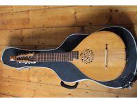 Baroque Cittern Luthier rare