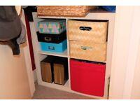 IKEA Kallax storage unit and drawers