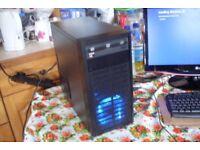 Custom Quad Core Gaming PC AMD A10-6700 3.7GHz 8GB RAM 250GB Windows 10 Radeon Graphics HDMi