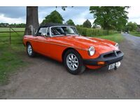 MGB Roadster, Over drive, Good History File, 78k, Current Owner 17 Years,new MOT