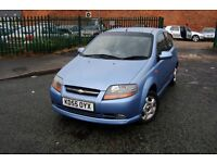CHEVROLET KALOS 1.4 LONG MOT GOOD SERVICE HISTORY