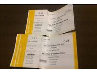 "2x ""The Tom O'Connor Show"" tickets"
