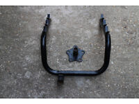 Cycle carrier for rear spare wheel