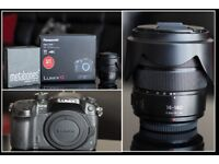 Panasonic DMC-GH4 (Lumix G) with lens and Canon 7D(body only)