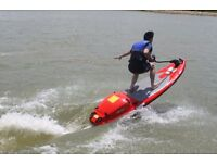 First Time in UK!! New Jet Surfboard 4 Stroke 125CC 40km/h Jet Power Wakeboard
