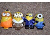 McDonald's 4 Minions figures