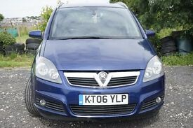 vauxhall zafira 2006 diesel ( full service history )sale or swap