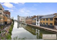 BRAND NEW 1 BED APARTMENT FULLY FURNISHED ROYAL QUAY CONVERTED WAREHOUSE ON CANAL IN LIMEHOUSE E14
