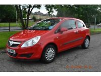 Vauxhall Corsa 1.0 Life 2007, Exceptionally Low Mileage
