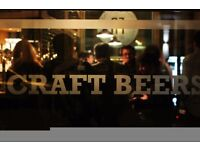 General Manager needed for Beer Bar in West London