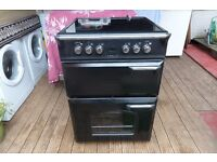 LEISURE CERAMIC ELECTRIC COOKER 60 CM DOUBLE OVEN