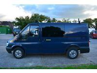 2005 SWB Ford Transit Low roof, 88900m, GPS, Bike Rack+ camping extras