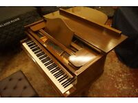 Metzler mahogany baby grand piano - Tuned and UK delivery available