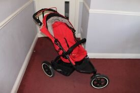 Phil & Teds double buggy (dot)