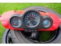 2007 Peugeot Speedfight 2 clocks