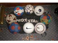 Footballs size 3