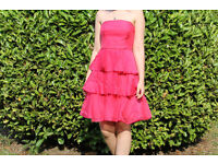 Beautiful pink prom/bridesmaid dress from COAST, size 10