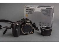 PANASONIC LUMIX G5 + panasonic lumix 45-200mm mega ois